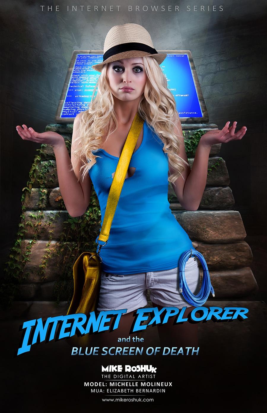 Internet Explorer IE, chrome, netscape, браузеры, девушки, опера, сафари