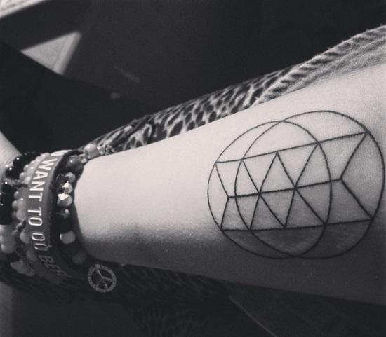 Геометрические фигуры. тату, татуировки