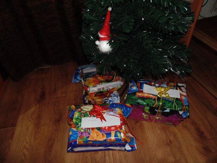 Новогодний троллинг от жены жена, подарок, троллинг