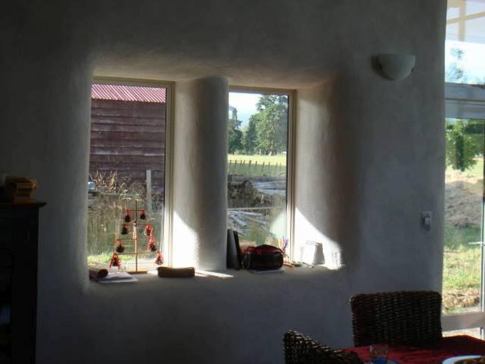 Современный соломенный дом дом, солома