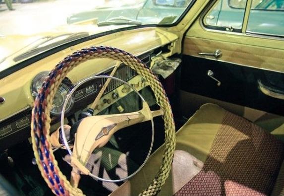 Шторки,монеты и оплетка руля : как тюнинговали машины в СССР авто, интересное, новости