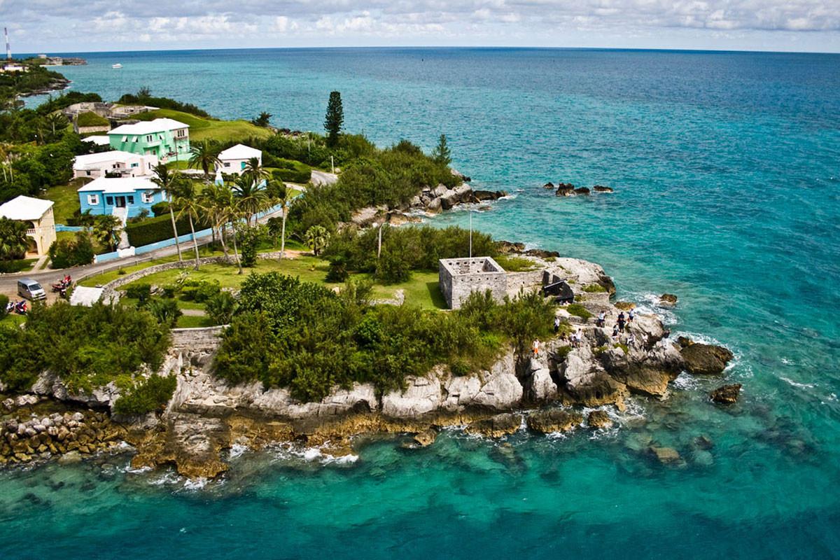 3. Сент-Джордж, Бермуды в мире, вода, планета