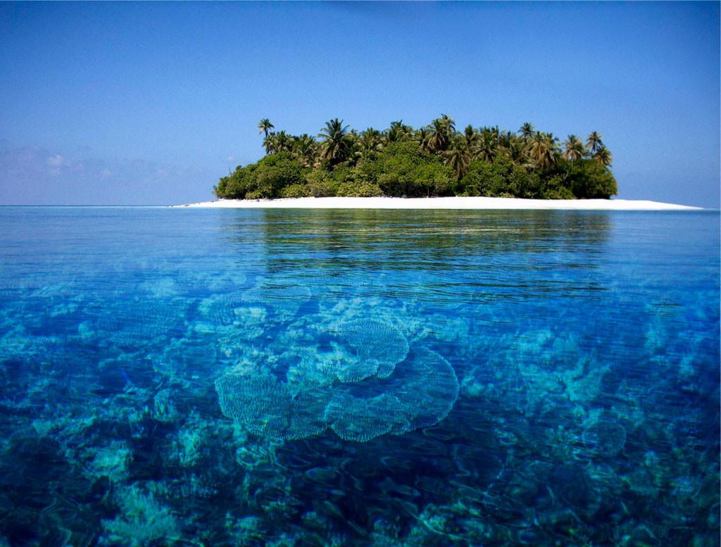 24. Мальдивские острова в мире, вода, планета