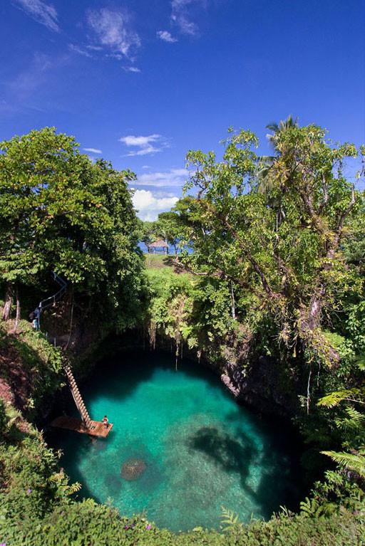 33. Природный бассейн То Суа, остров Уполу, Самоа в мире, вода, планета