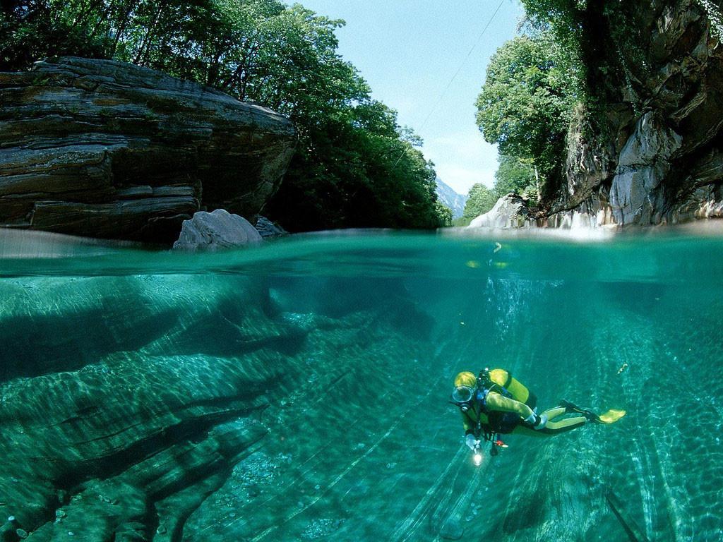 34. Река Верзаска, Швейцария в мире, вода, планета