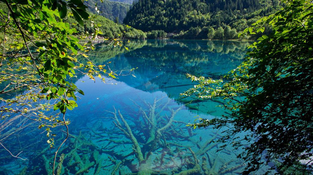 16. Долина Цзючжайгоу, провинция Сычуань, Китай в мире, вода, планета