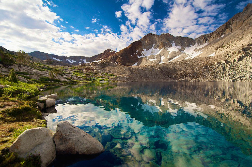 20. Озеро Марджори, Калифорния, США  в мире, вода, планета