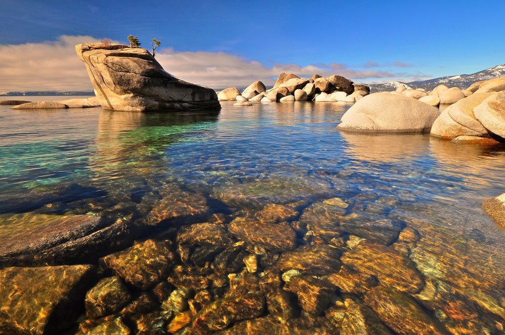 21. Озера Тахо, Невада в мире, вода, планета