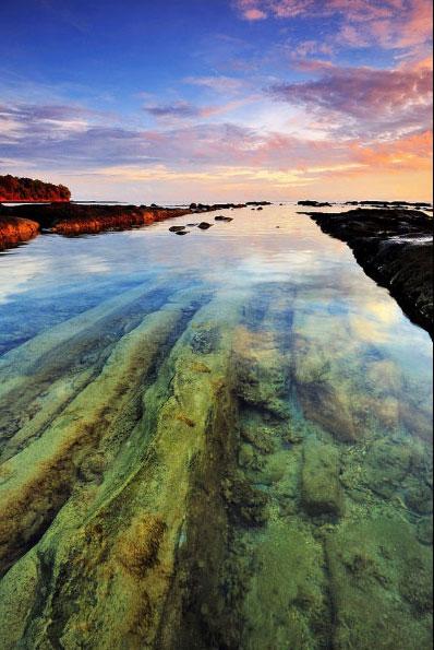 35. Пляж Бак Бак, Борнео в мире, вода, планета