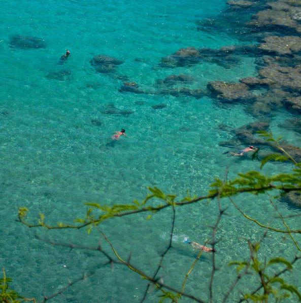14. Бухта Ханаума, остров Оаху, Гавайи в мире, вода, планета