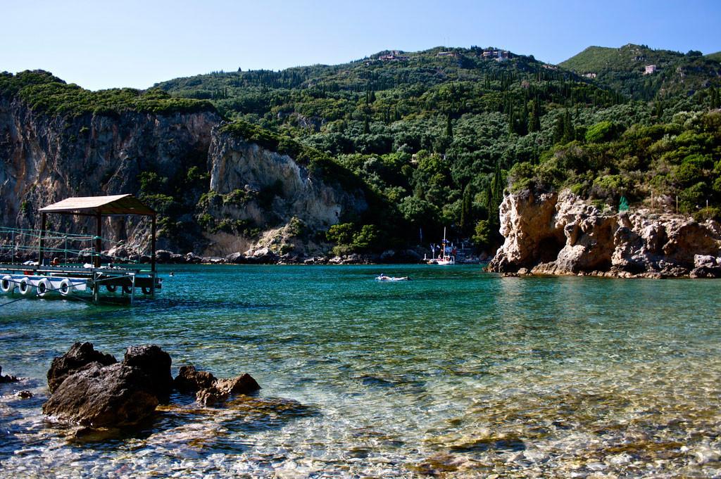 11. Остров Корфу, Греция в мире, вода, планета
