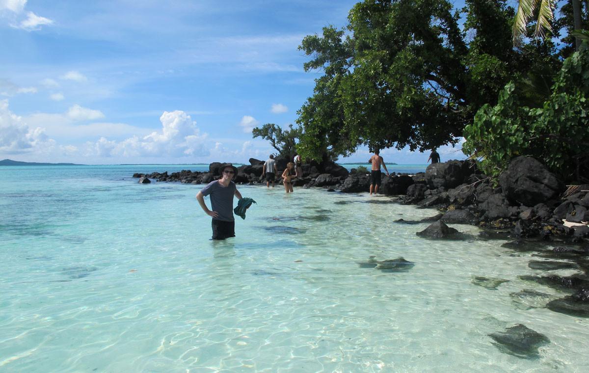 10. Атолл Аитутаки, острова Кука в мире, вода, планета