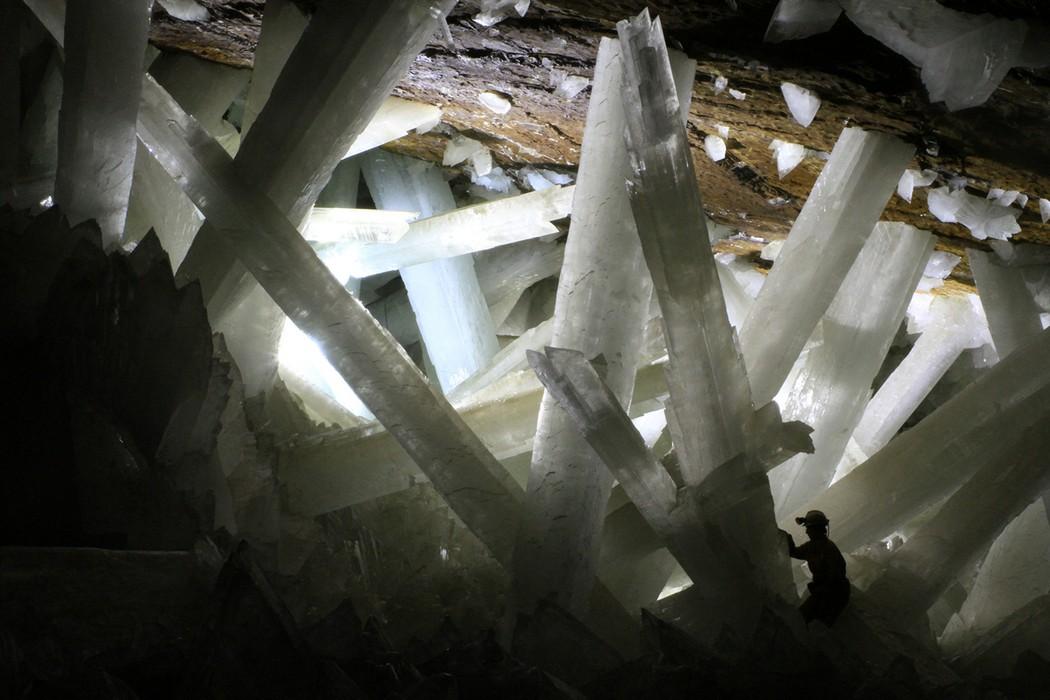 12. Мексика. Пещера кристаллов. (Alexander Van Driessche) земля, природа
