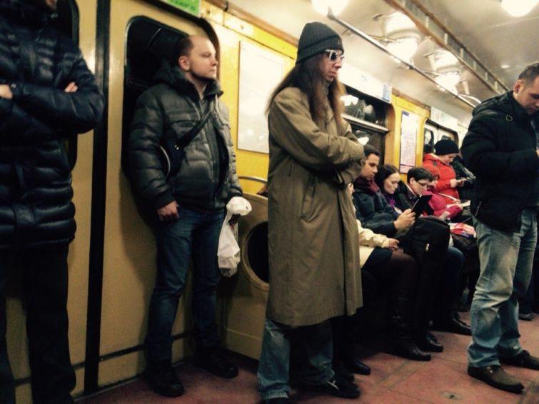 Модники питерского метро Санкт - Петербург, люди, метро, подземка, фрики