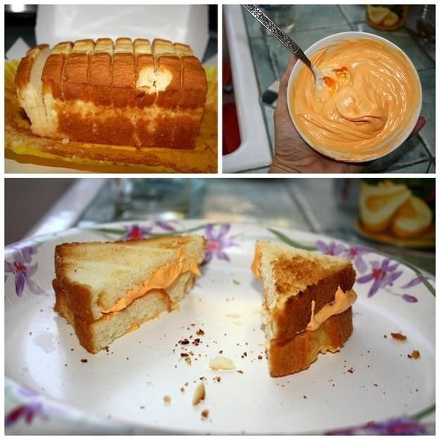 3. Сладкий торт, вместо сэндвича с сыром апрель, розыгрыш, шутка