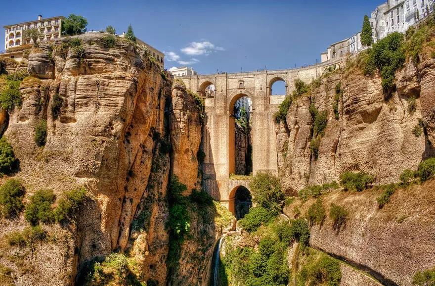 Ронда, Малага, Испания в мире, мост