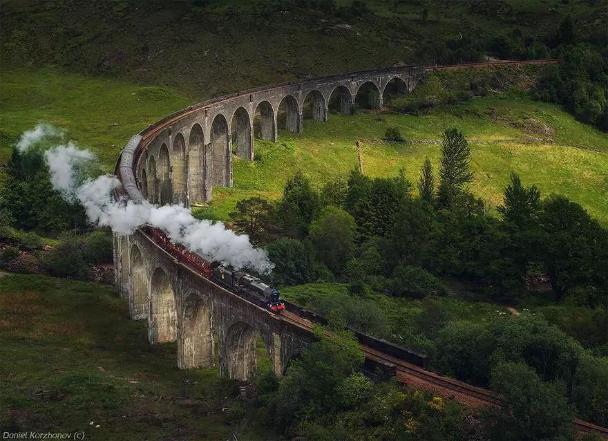 Виадук Гленфиннан, Шотландия в мире, мост