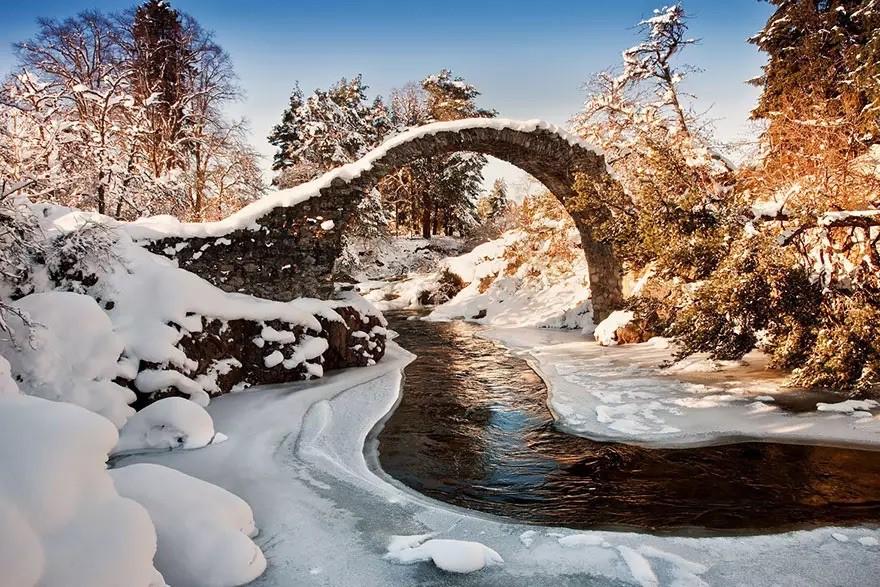 Мост в Каррбридже, Шотландия в мире, мост