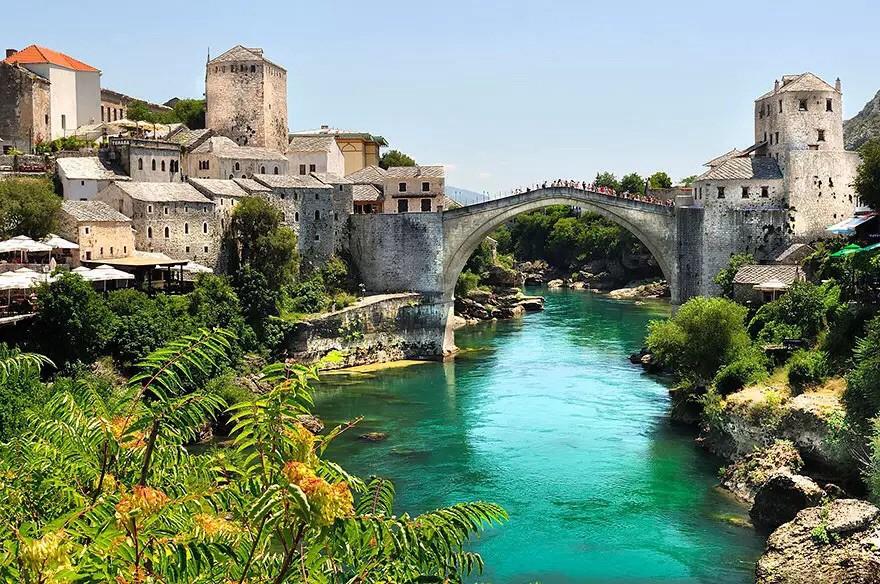 Старый мост в Боснии и Герцеговине в мире, мост