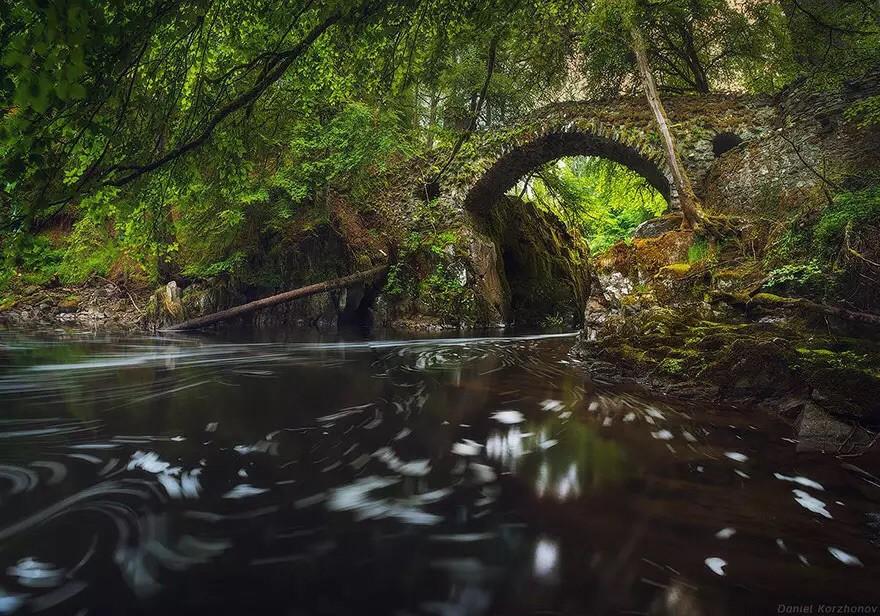 Мост Эрмитаж, Шотландия в мире, мост
