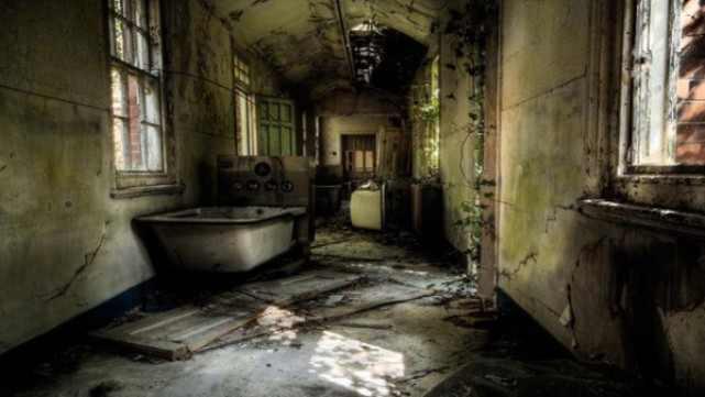 Больница Хиллингли, Великобритания. зловещие места, интересное, история, мир, факты