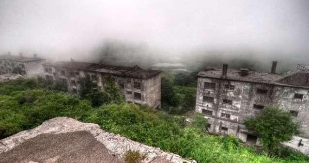 Призрачный рудник Матсуо, Япония. зловещие места, интересное, история, мир, факты