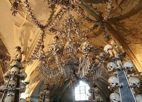Костехранилище в Седлеце, Польша. зловещие места, интересное, история, мир, факты