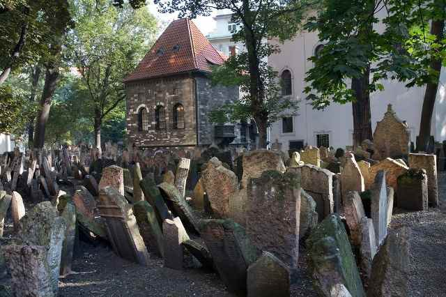 Старое еврейское кладбище в Праге, Чехия. зловещие места, интересное, история, мир, факты