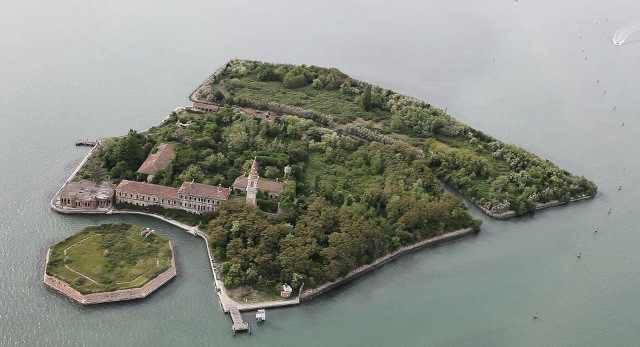 Остров чумы, Италия. зловещие места, интересное, история, мир, факты