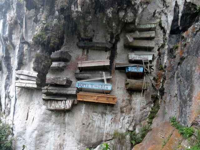 Висячие гробы Сагады, Филиппины. зловещие места, интересное, история, мир, факты