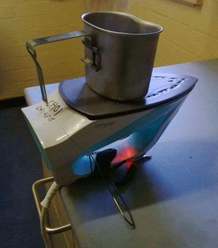 8. Быстрый супчик можно приготовить, не выходя на кухню… смекалка, студенты, юмор