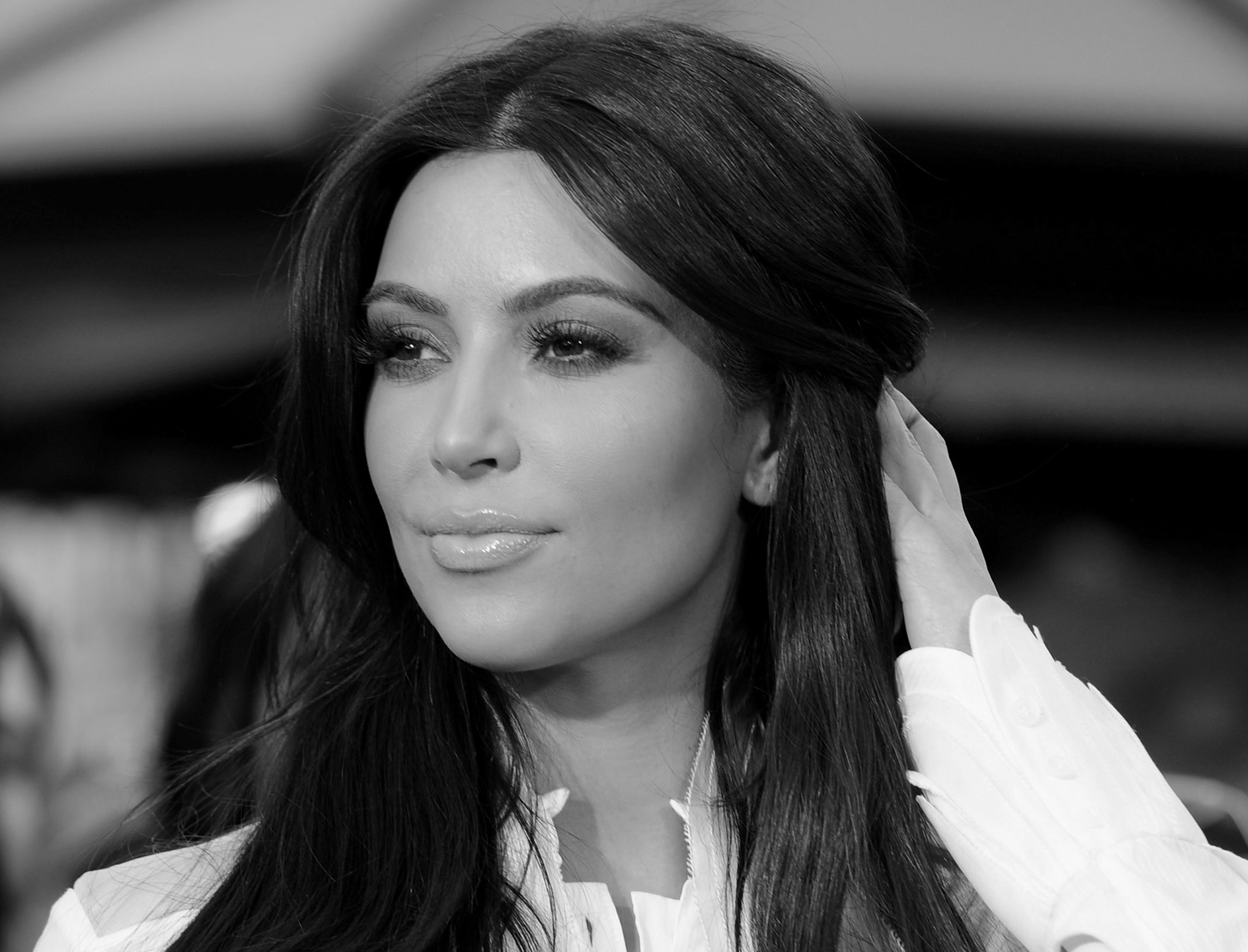 4. Ким Кардашьян девушки, красота, метисы, фото