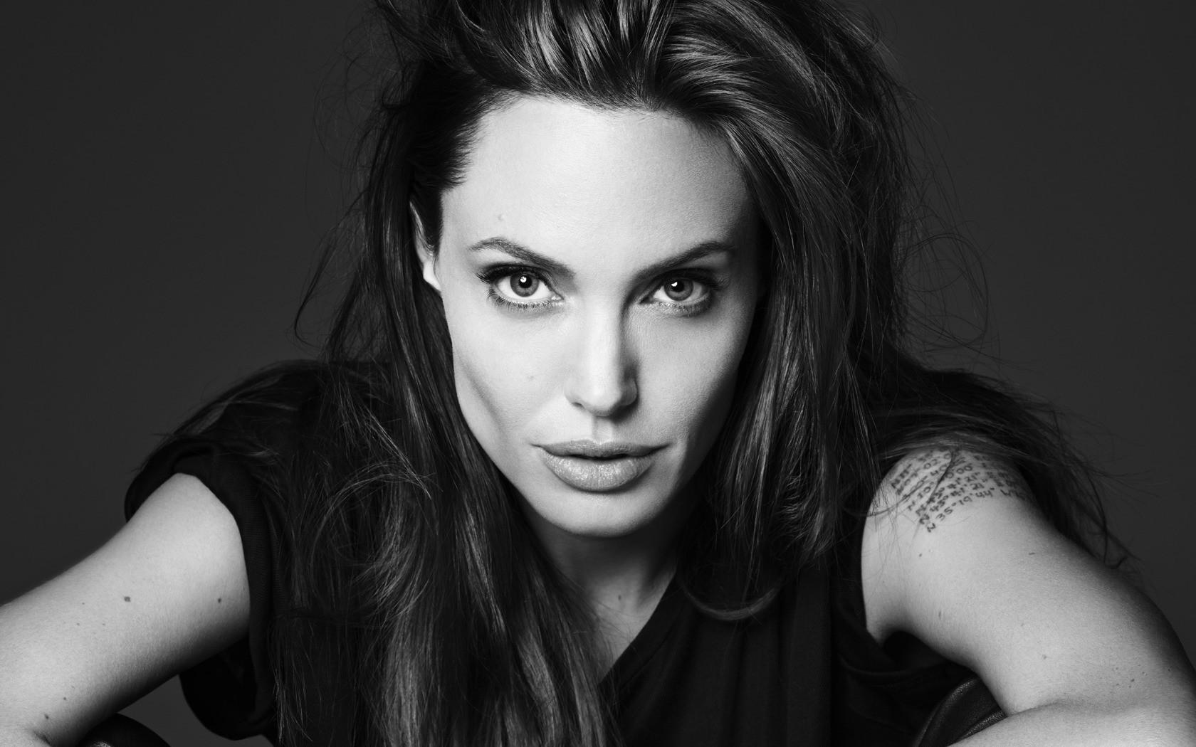 7. Анджелина Джоли девушки, красота, метисы, фото