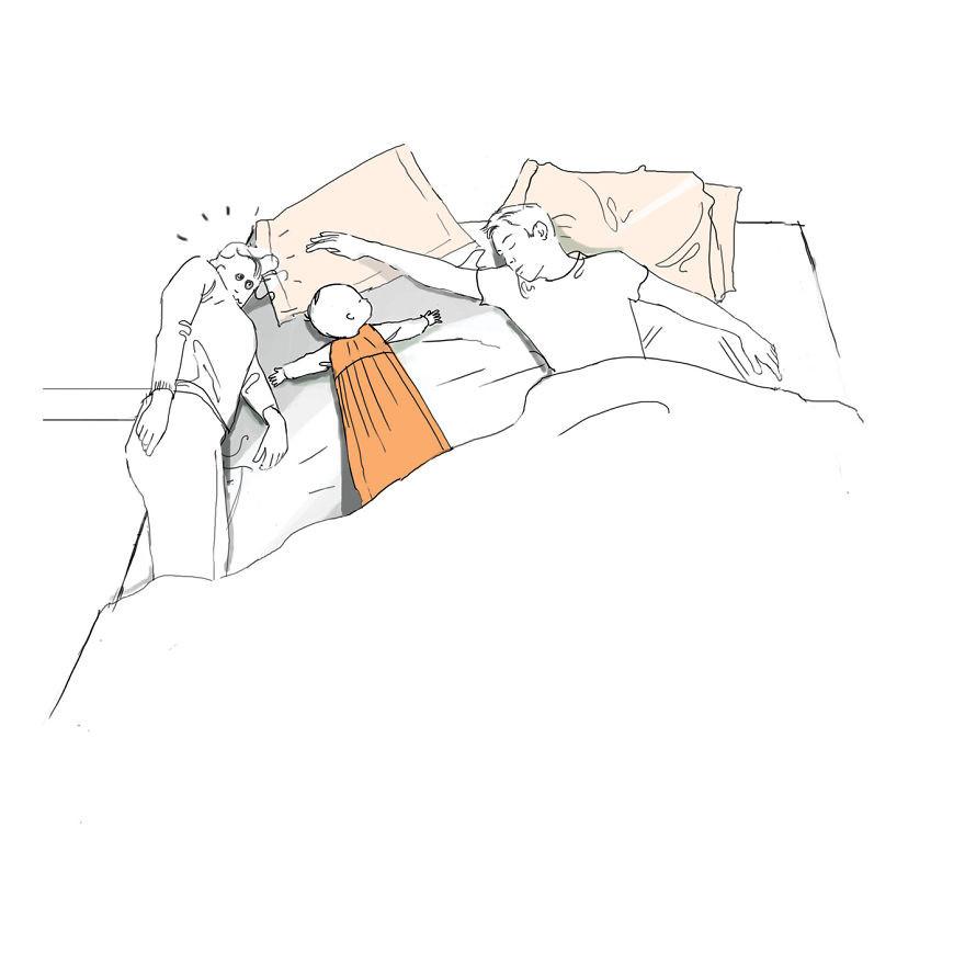 2. Сладкие сны дети, комиксы, материнство, прикол, родители