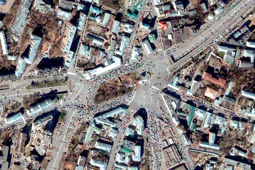 2. Москва дорога, перекрестки
