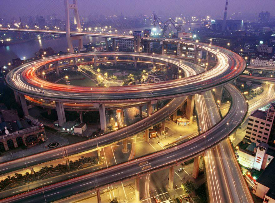 5. Шанхай дорога, перекрестки