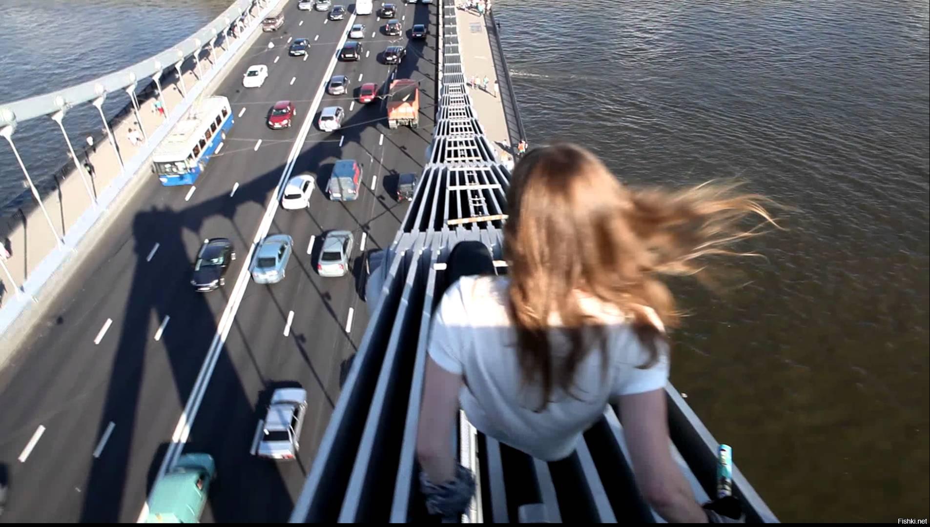 картинки спрыгнуть с моста также проста