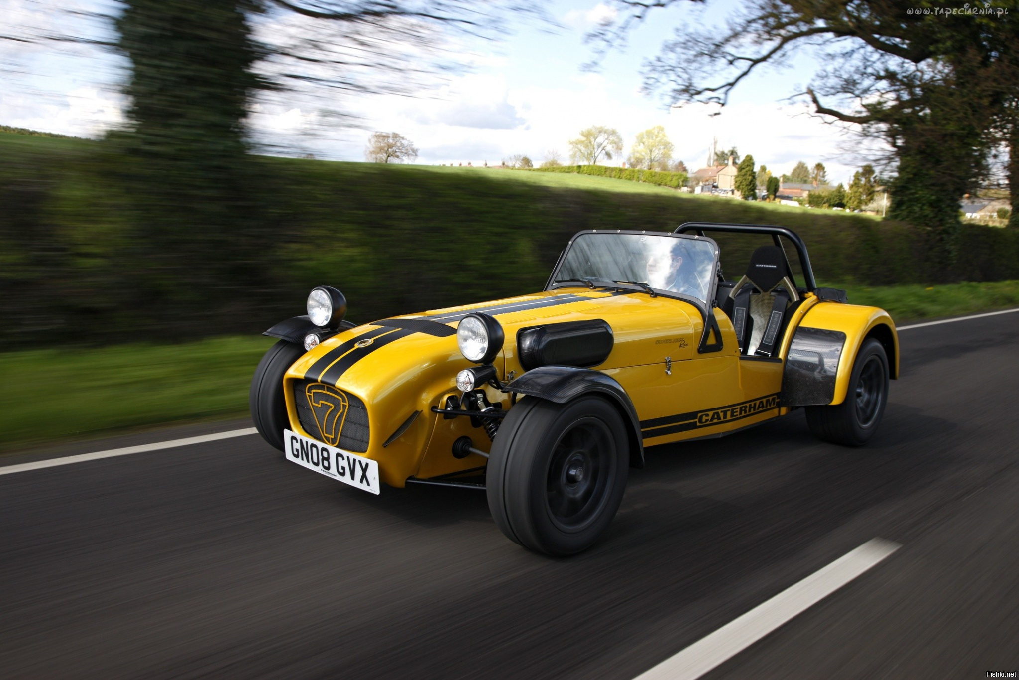 Ariel Atom и Caterham Superlight R500