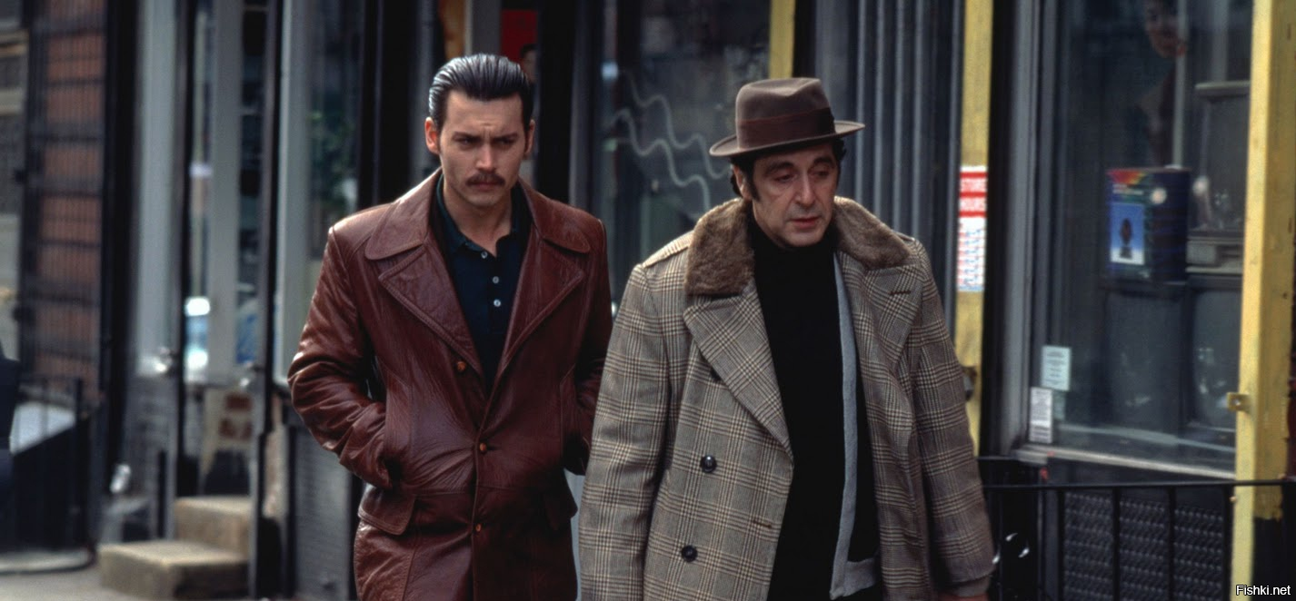 a movie analysis of donnie brasco starring al pacino and johnny depp My review of donnie brasco directed by mike newell starring al pacino and johnny depp 1997.