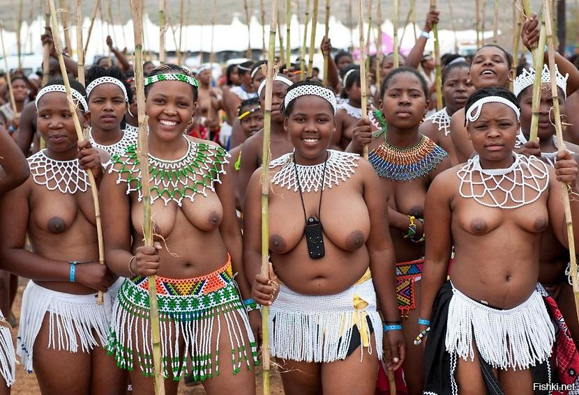 Naked zulu women reed dance