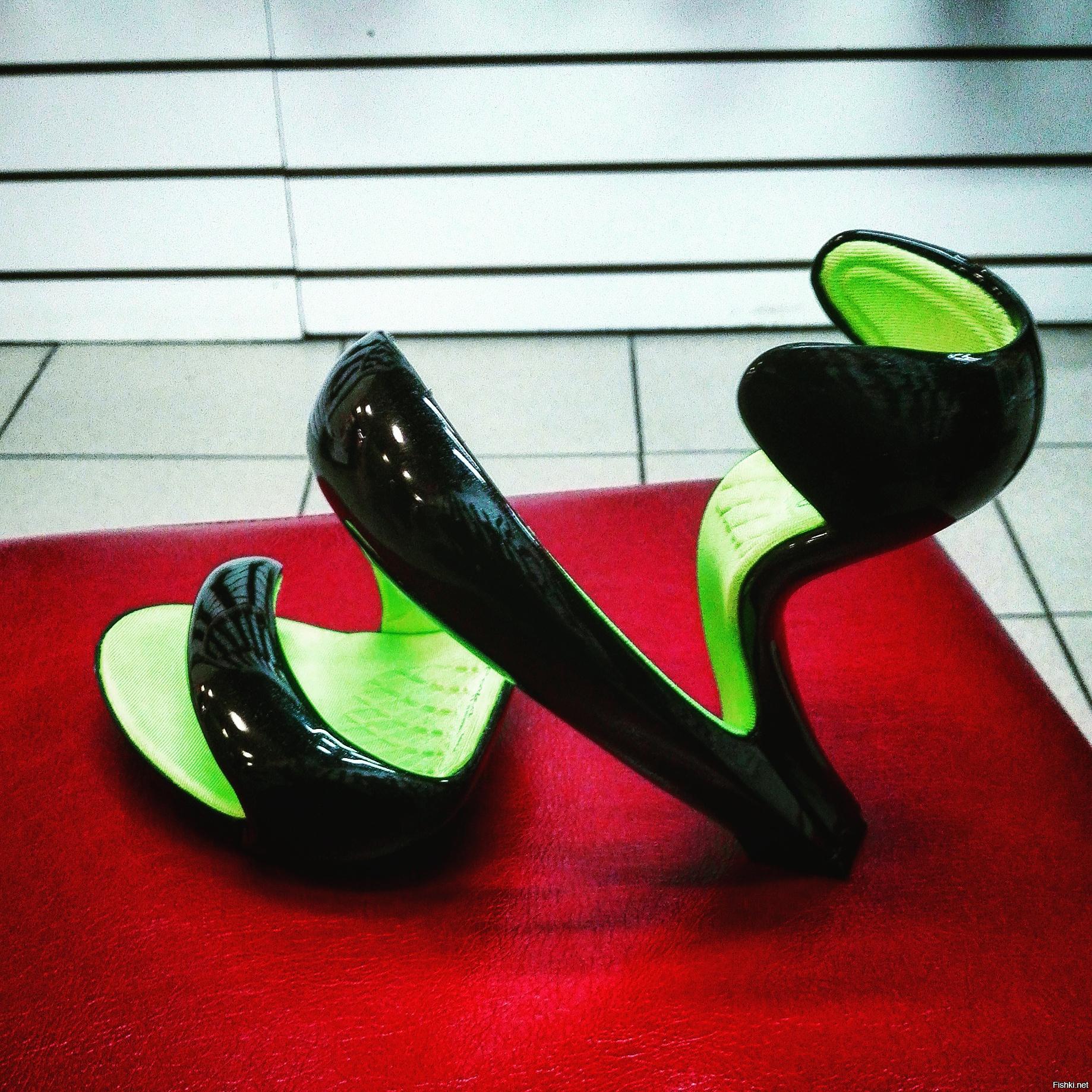 Необычные туфли картинка