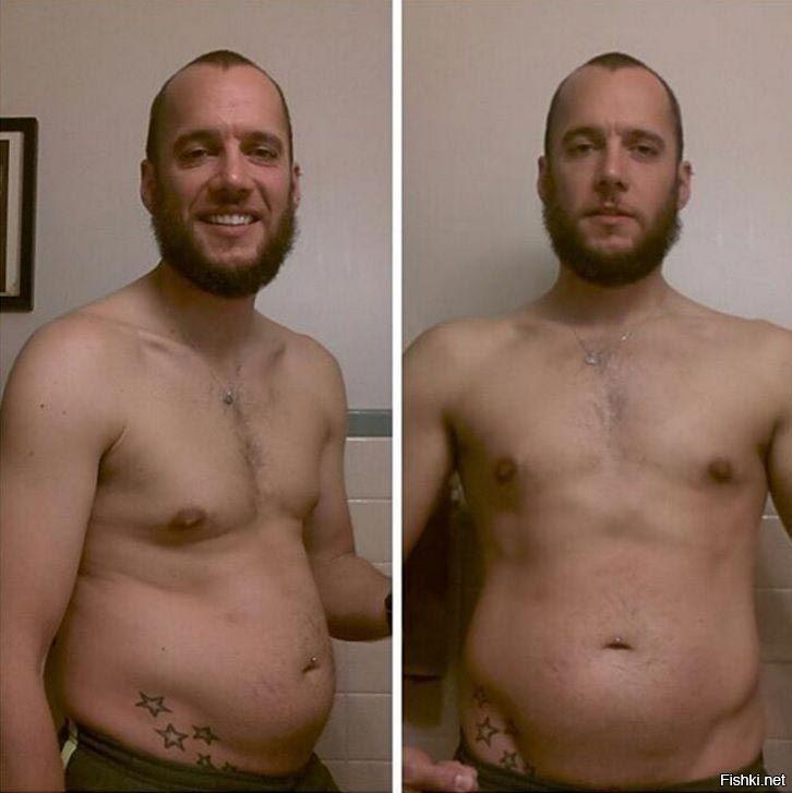 Мужское Похудение До И После. Мужчины до и после похудения: лучшие преображения, описание с фото, спортивные нагрузки и диеты