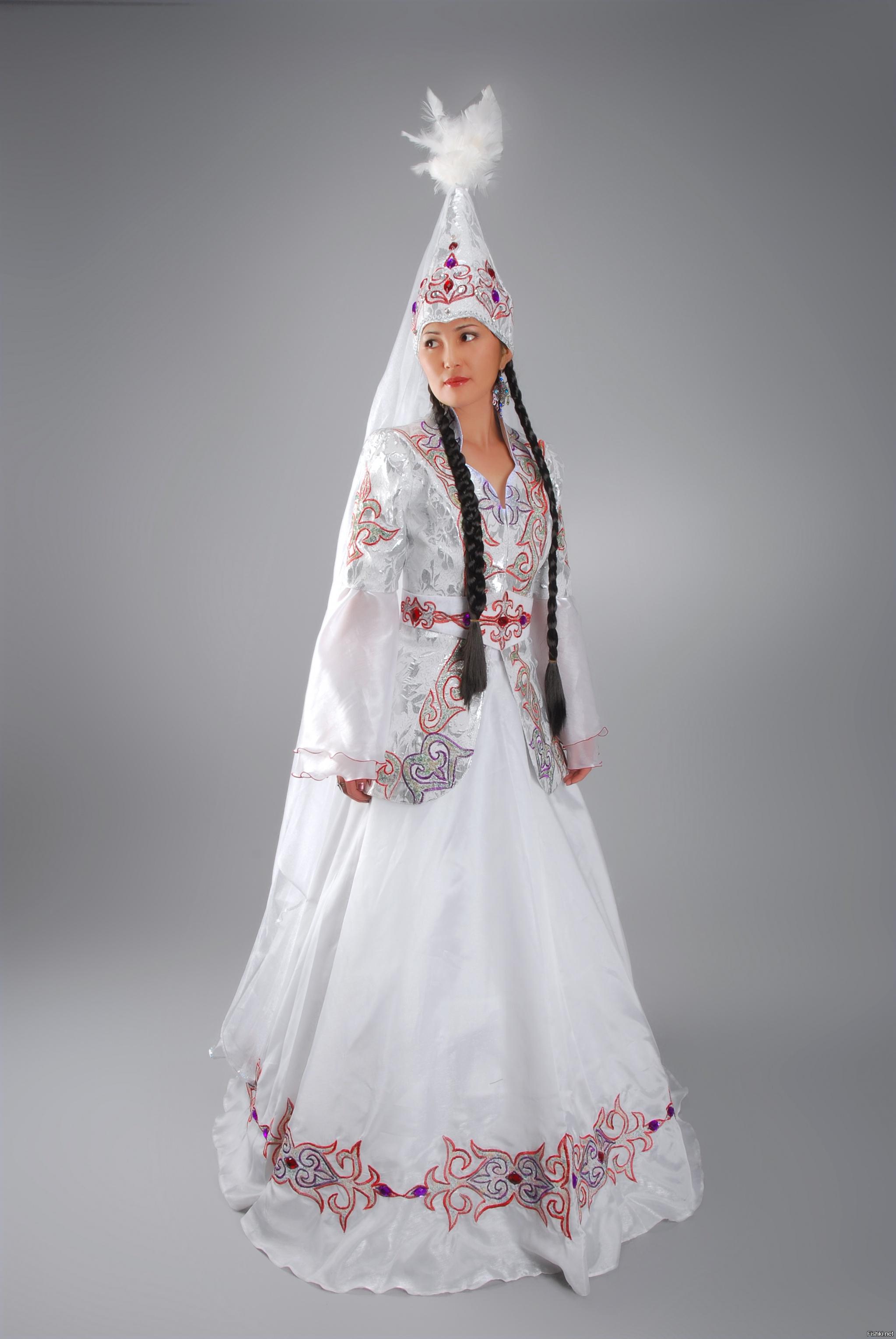 картинки казахских национальных платьев всеми