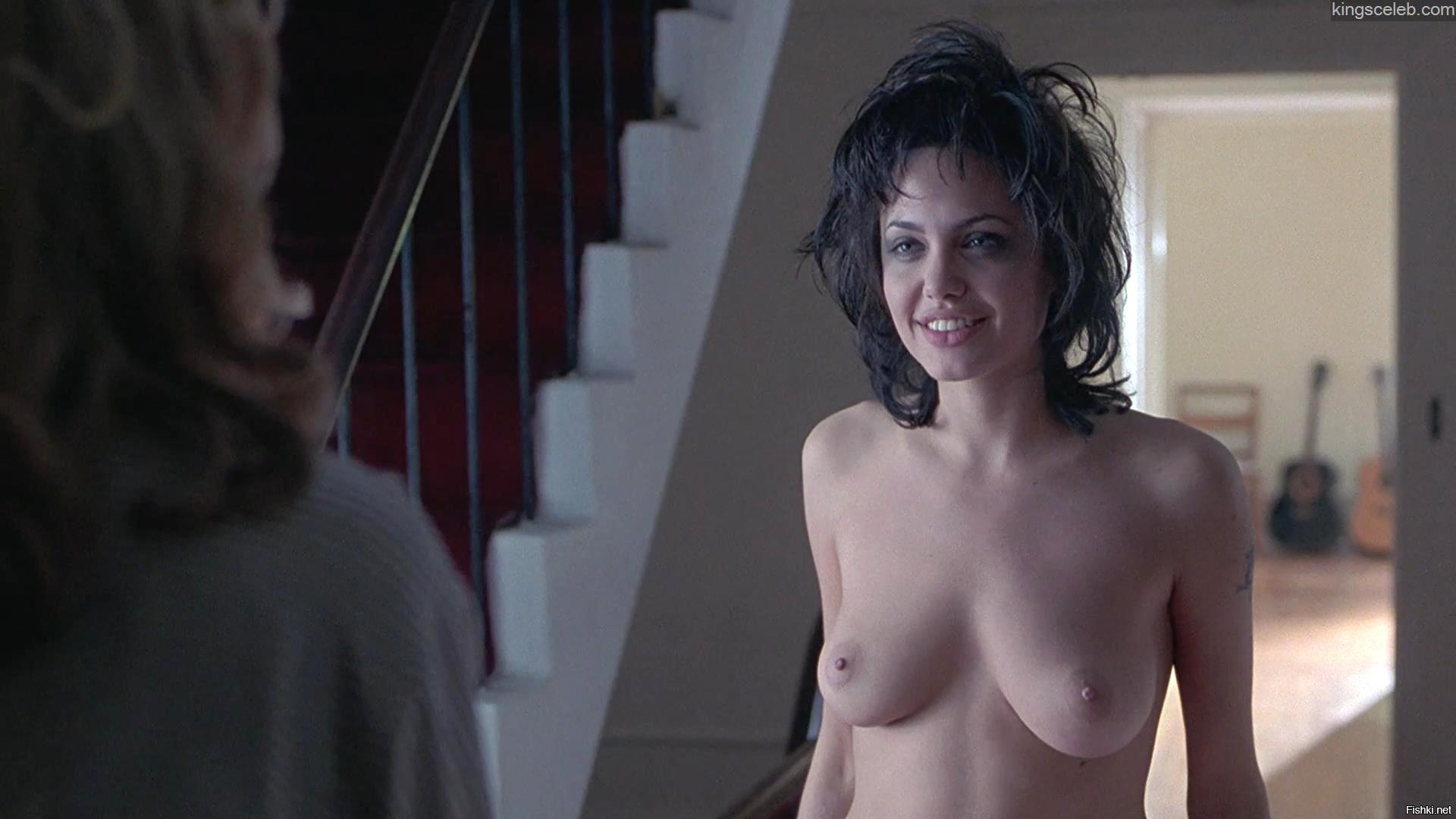 Photo of angelina jolie half nude from films, black pimp girls