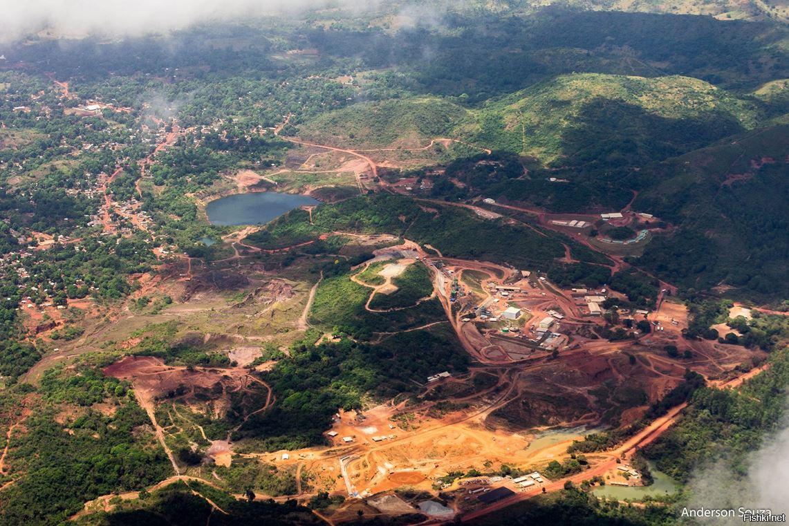 золотой рудник бразилии фото