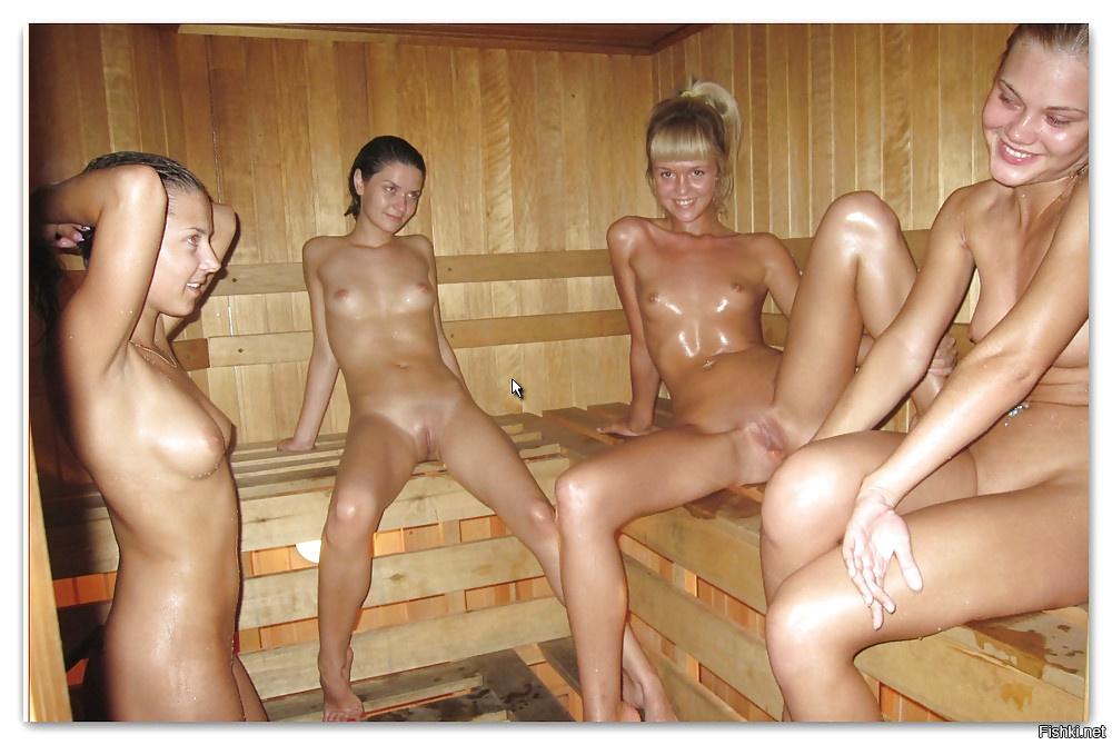 собрали для много голых женщин в бане пятницу две