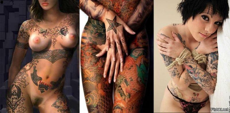 Порно актриса с татуировкой совы на груди