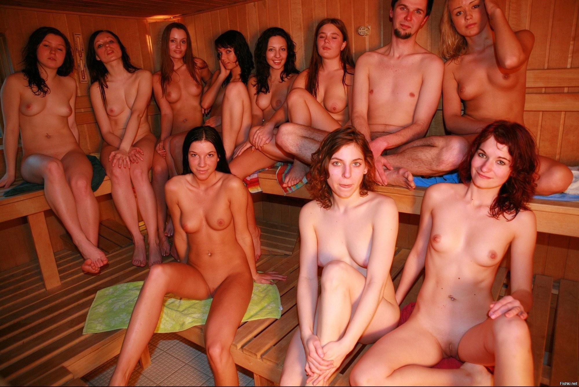 голые девушки с соц сетей в бане