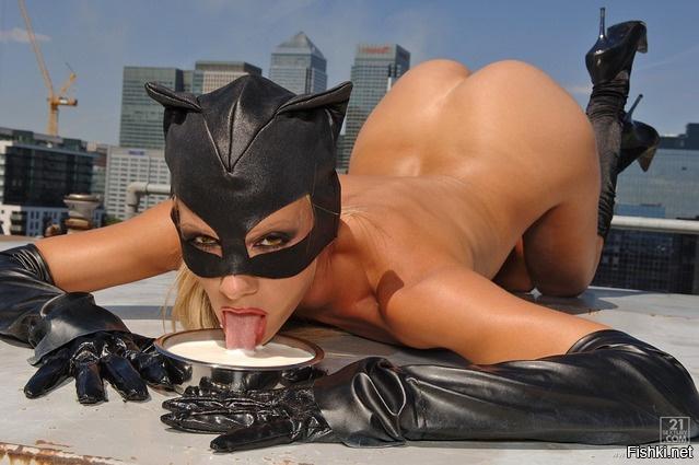 Порно девушка кошка фото