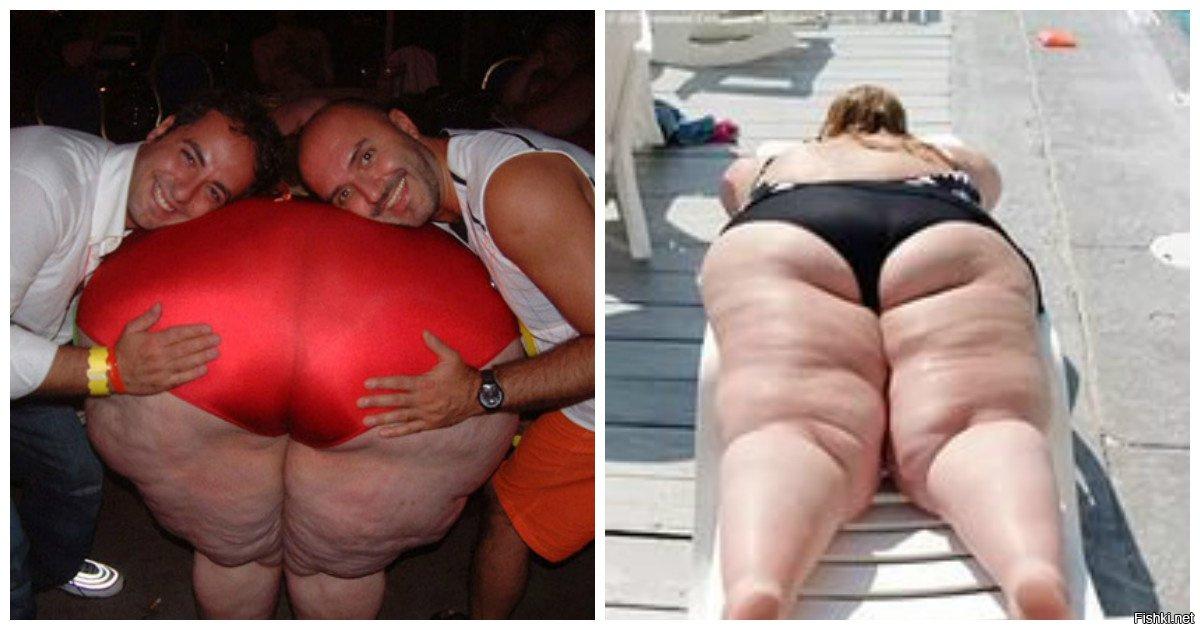 фото самый жирный попа